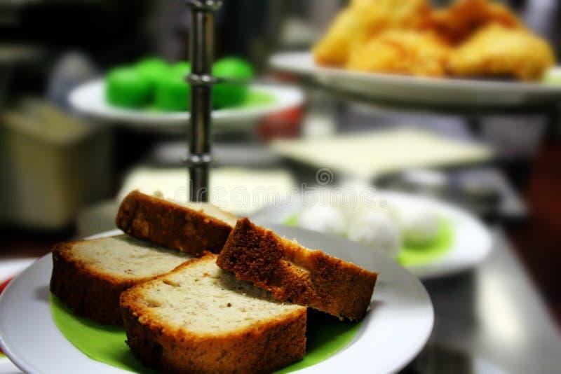 Banana bread royalty free stock image
