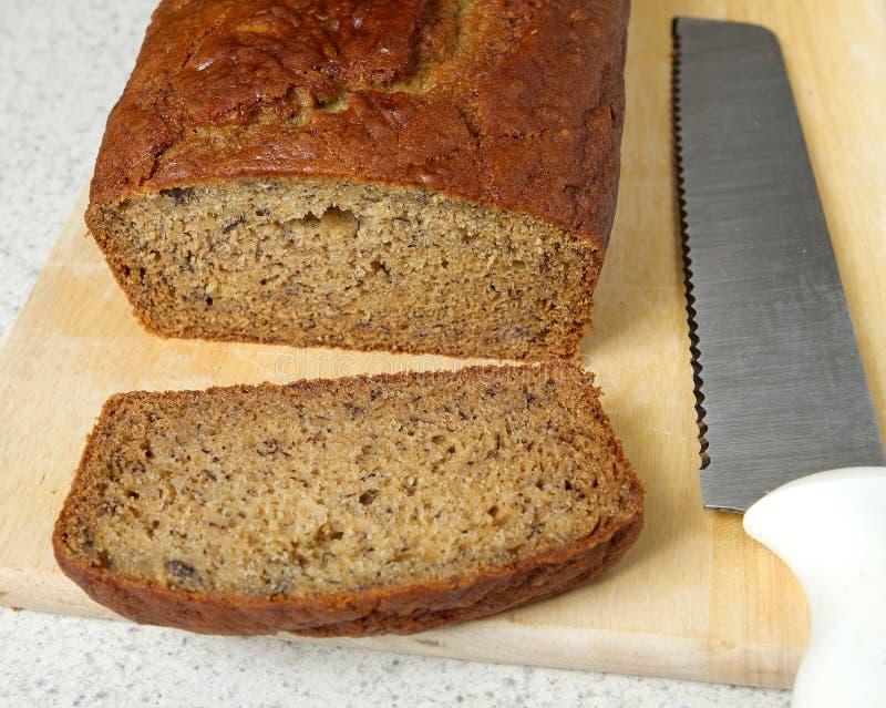 Download Banana bread closeup stock image. Image of piece, moist - 16024775