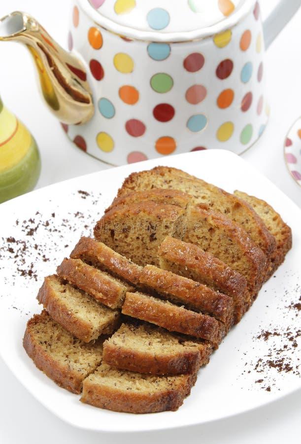 Download Banana Cake Loaf stock photo. Image of homemade, dessert - 25491398