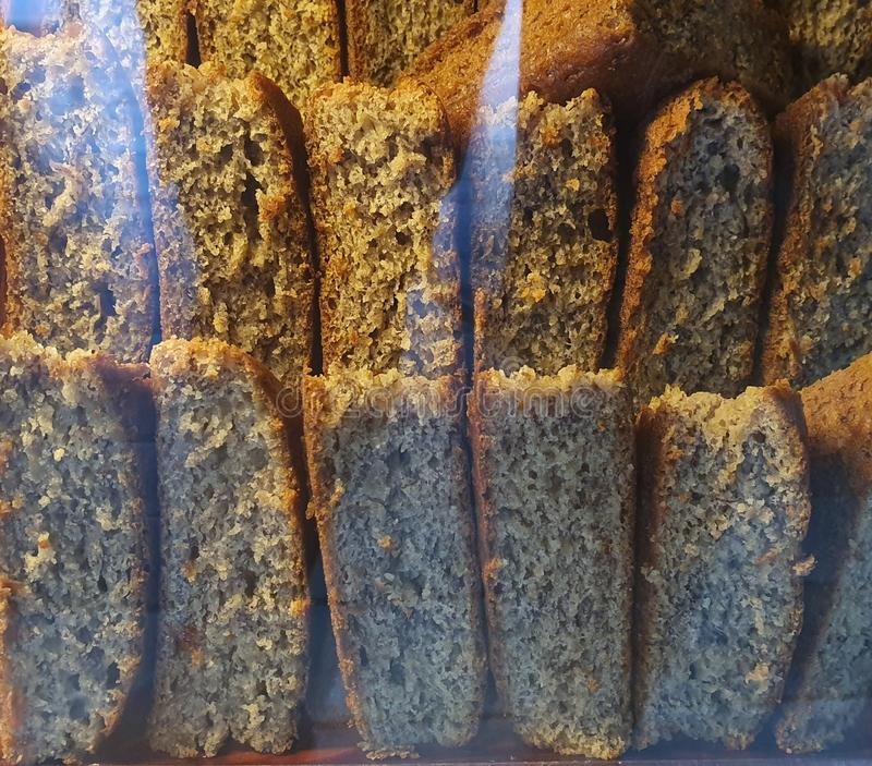 Banana Cake: a Popular Snack Food in the Philippines royalty free stock image