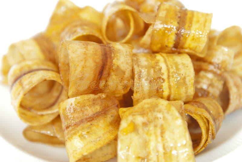Banana Crisp Stock Photography