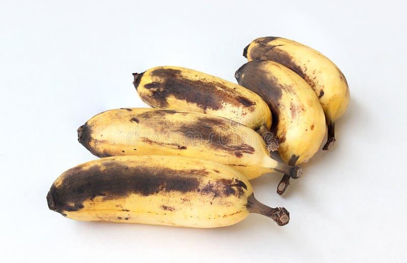 Banana decomposta fotografie stock