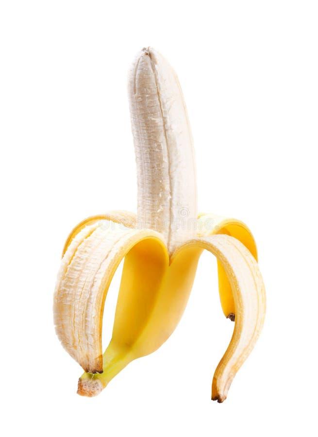 Banana descascada fotos de stock