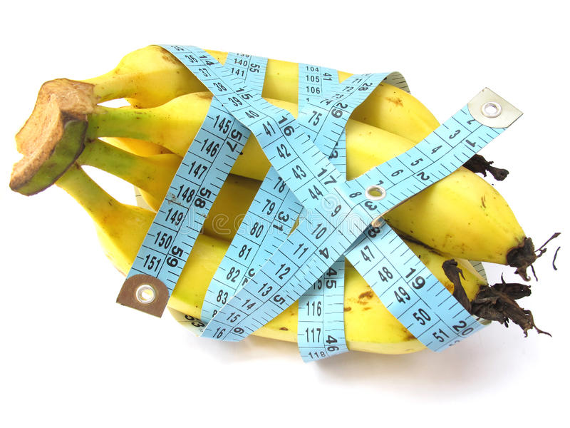 Banana Diet stock photography