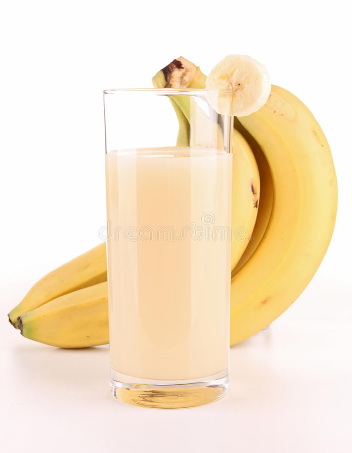 Banana Drink Stock Image