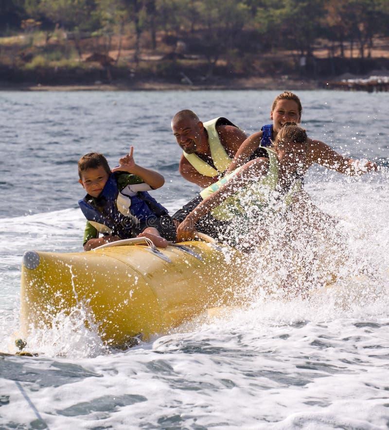 BANANA-EXTREME WATER SPORTS royalty free stock image