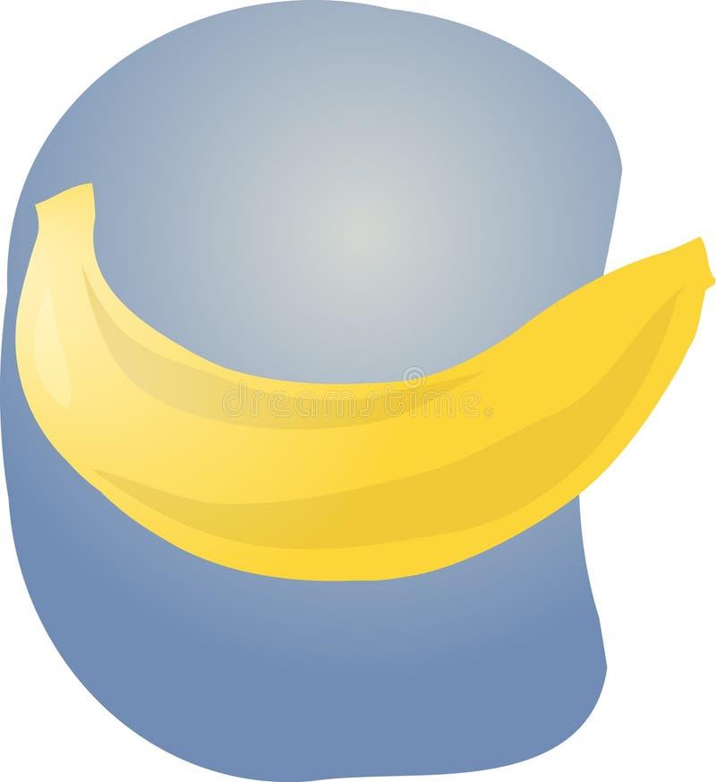 Banana fruit illustration royalty free illustration
