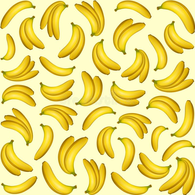 Download Banana Fruity Pattern stock vector. Illustration of exotic - 73332947