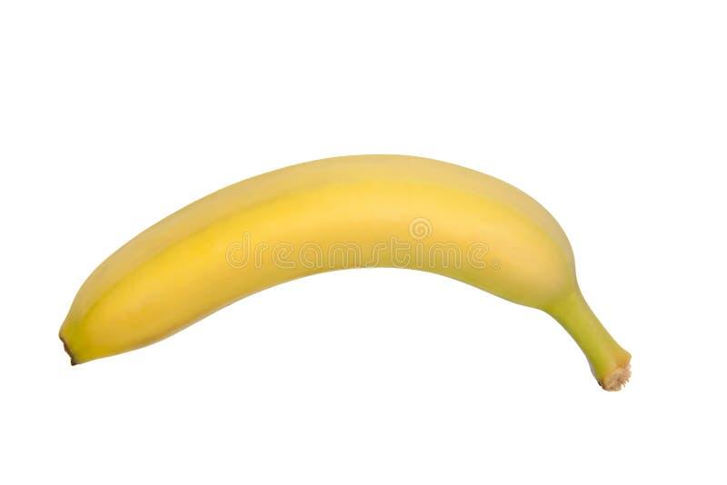 Banana isolada fotografia de stock