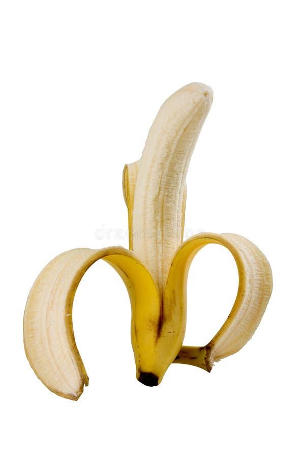 Banana isolata fotografie stock libere da diritti