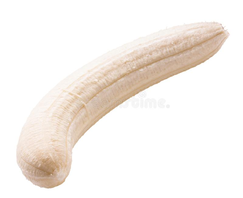 Banana isolated on a white background royalty free stock photos