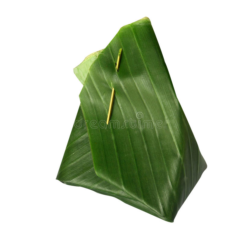 Download Banana leaf packaging stock photo. Image of rice, plant - 16228602