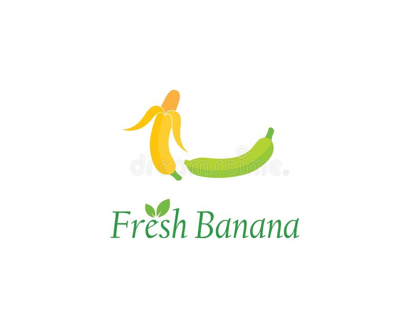 Banana logo vecto stock illustration