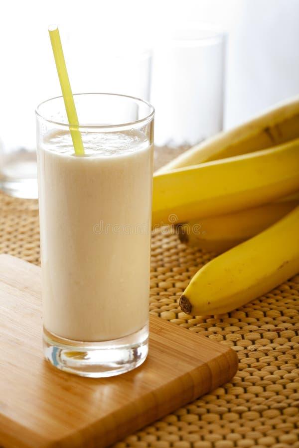 Download Banana milkshake stock photo. Image of bananas, fruity - 14218264