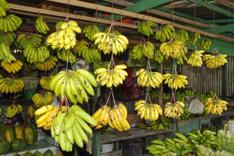Banana nel servizio immagini stock libere da diritti
