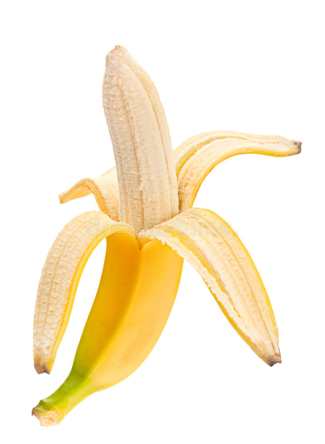 Download Banana open stock photo. Image of food, organic, object - 25341312