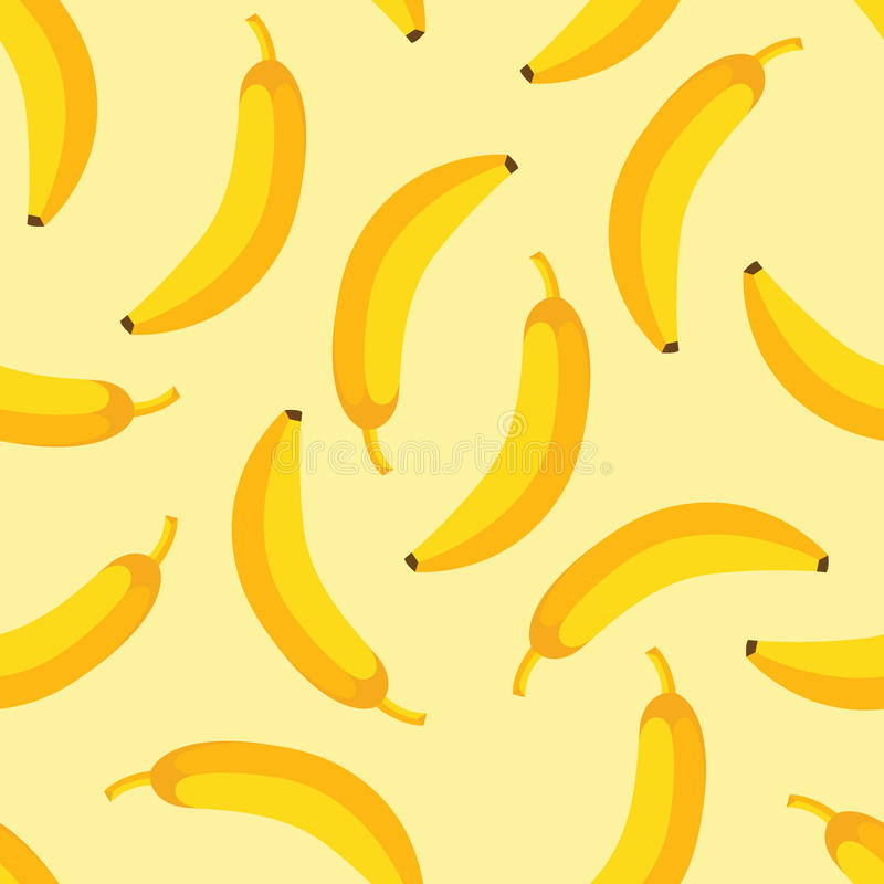 Banana pattern royalty free stock images