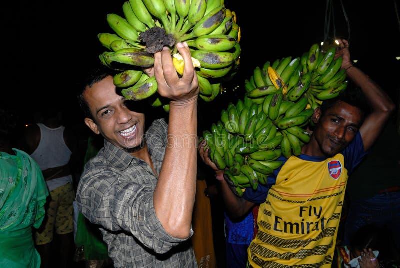 Banana per culto fotografia stock libera da diritti