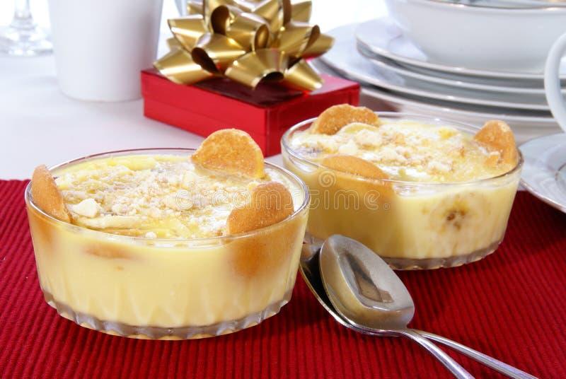 Banana Pudding Stock Photography