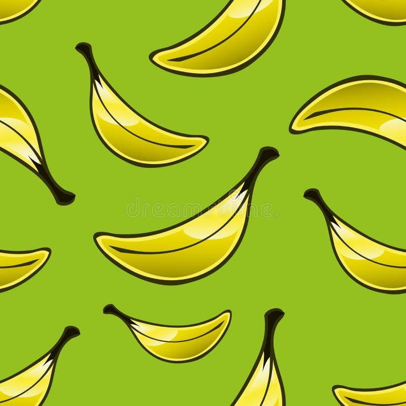 Banana Repeat Pattern Royalty Free Stock Images