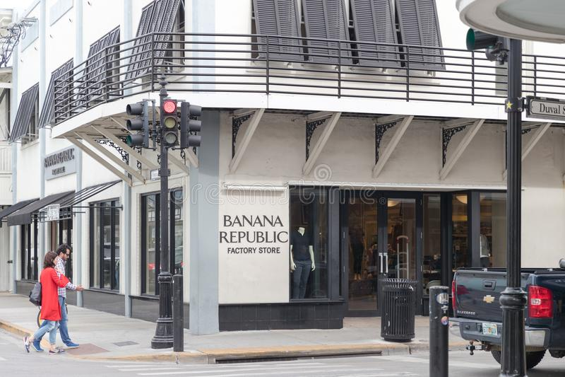 Banana Republic est un détaillant américain d'habillement et d'accessoires image libre de droits