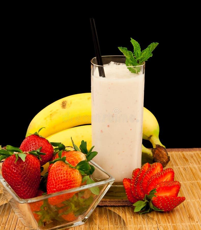 Banana Shake stock photography