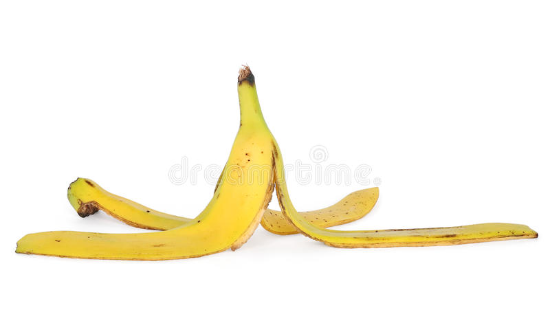 Download Banana skin stock image. Image of used, path, peel, fruit - 22924795