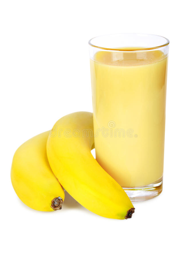 Download Banana Smoothie Royalty Free Stock Photography - Image: 25000807