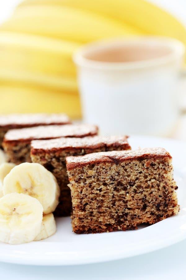 banana tort obraz stock