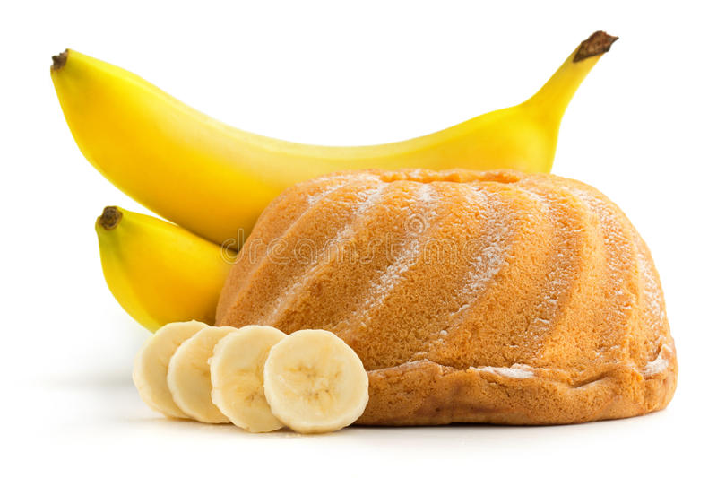 Banana tort zdjęcia royalty free