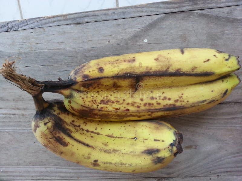 Banana twins royalty free stock photography