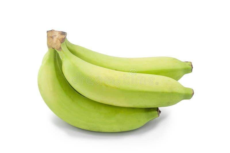 Banana verde fotografie stock libere da diritti