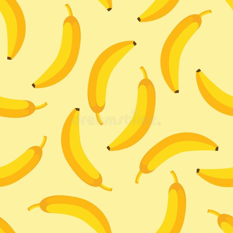 Banana wzór ilustracja wektor