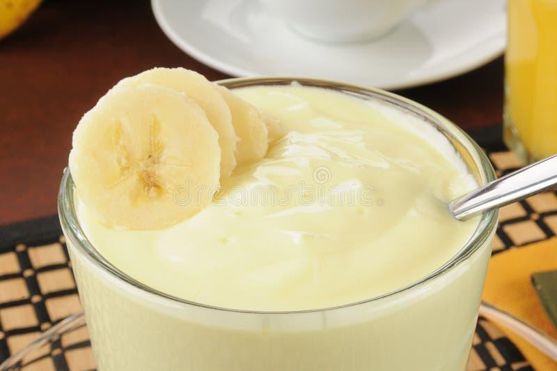 Download Banana yogurt stock photo. Image of spoon, yogurt, nutritious - 28608666