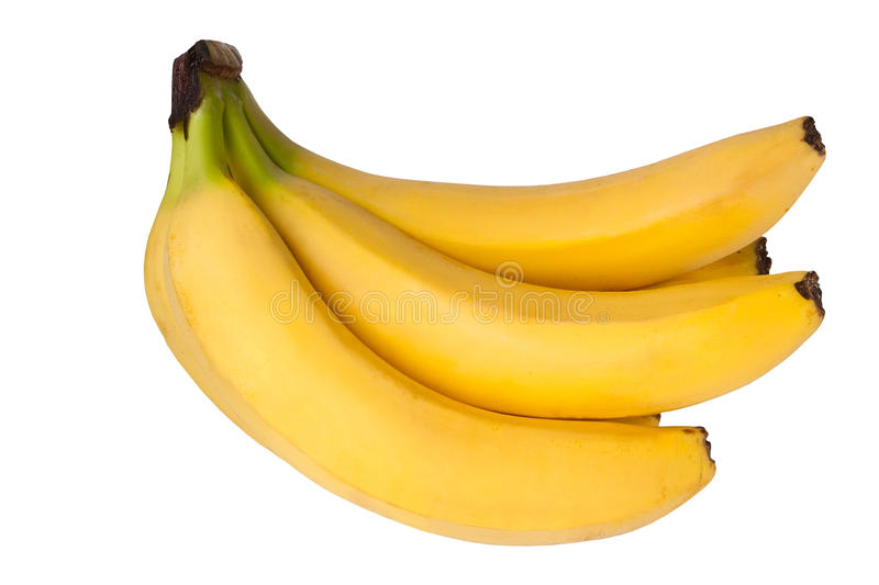 Download Bananas stock image. Image of isolated, yellow, bunch - 22332875
