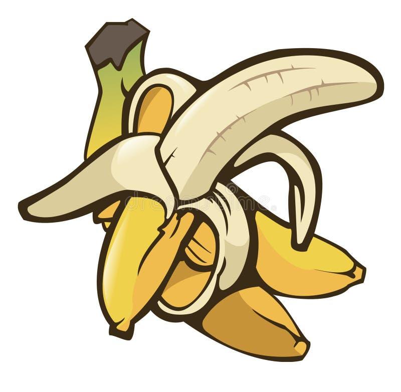 Download Bananas stock vector. Image of illustration, vegan, drawing - 9572945