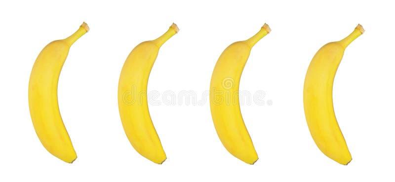 Download Bananas Frescas No Fundo Branco Ilustração Stock - Ilustração de textured, ninguém: 107526906