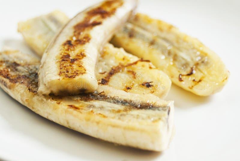 Bananas grelhadas fotos de stock