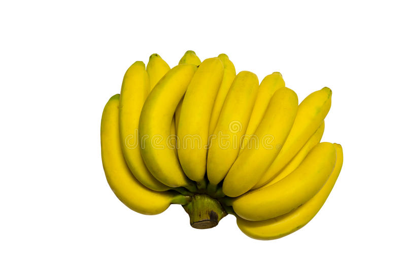 Download Bananas isolated on white stock photo. Image of group - 39507346