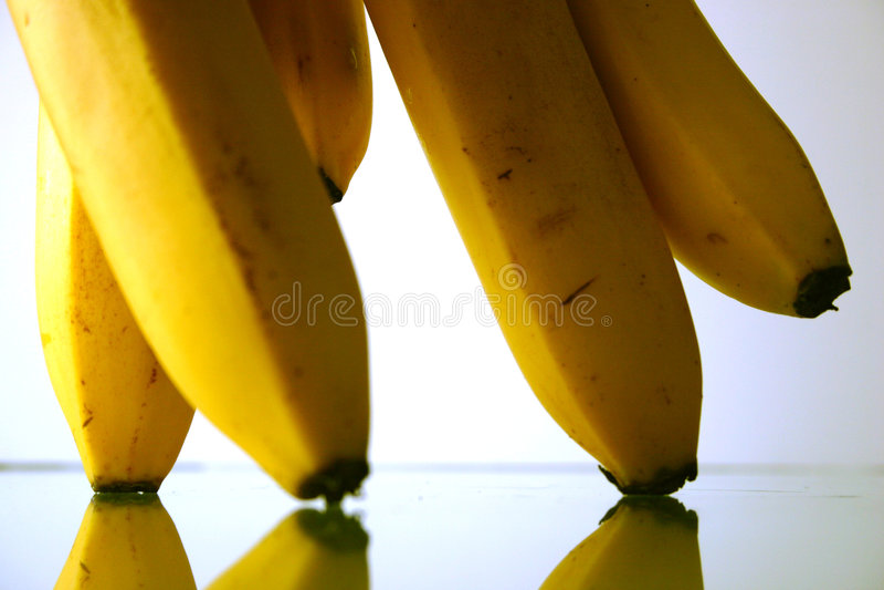 Bananas parade stock image