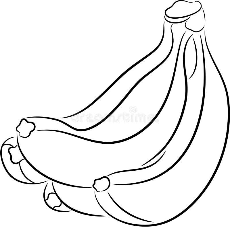 Banane stock abbildung