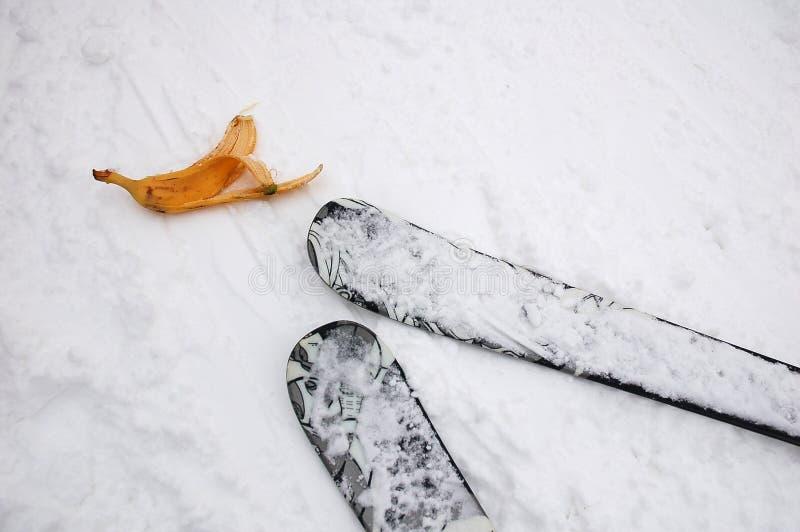 Banane d'extrémité de ski photos libres de droits
