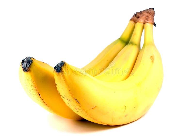 Banane d'isolement image stock