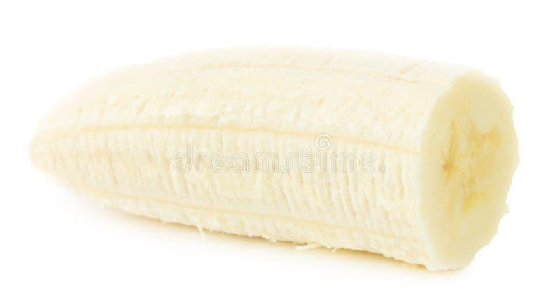 Banane d'isolement sur un fond blanc photographie stock