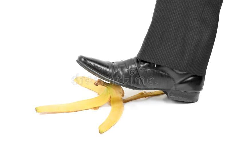 Banane de glissade photos stock