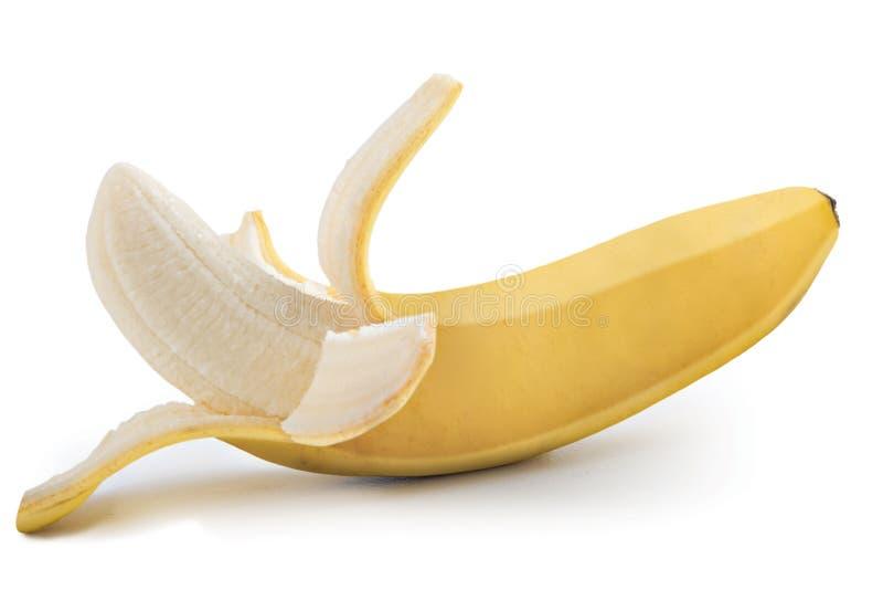 Banane enlevée image libre de droits