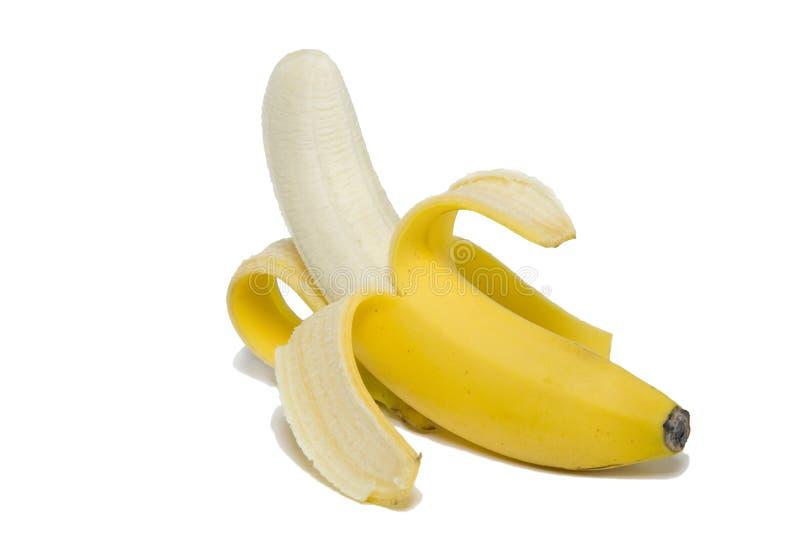 Banane enlevée photos libres de droits