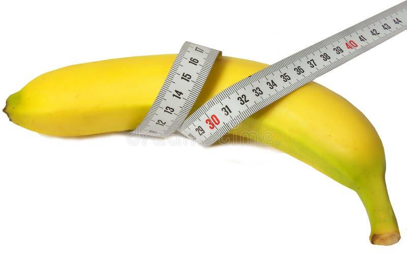 Banane et grille de tabulation photos libres de droits