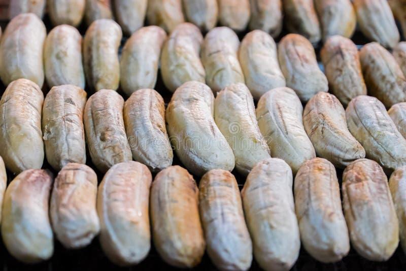 Banane rôtie photos libres de droits