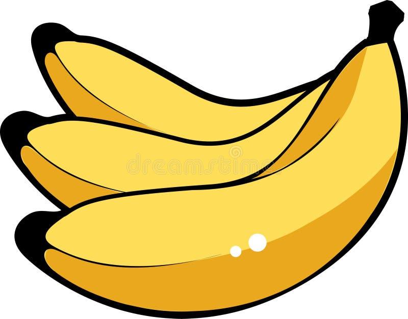 Bananen royalty-vrije illustratie